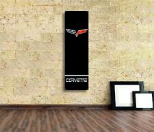 Corvette Sign Vinyl Banner Flag  Garage Workshop Adversting Décor Free shipping