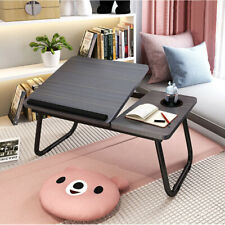 More details for foldable laptop bed table stand computer desk sofa lap tray adjustable portable