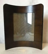 """Antique Vintage Curved Bentwood Freestanding Picture Frame Fits 10 x 8"""" Picture"""