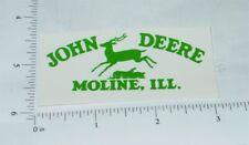 John Deere Green Pre-1936 Jumping Deere Logo Sticker      JD-780