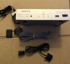 Opus TXT600 Text Interface Unit, MCU-600 Series Multi-Room Control System