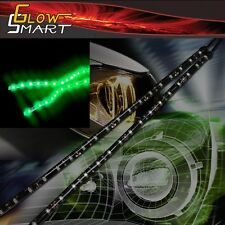 "12"" Flexible Green LED Strip (2-piece)  for Car Boat and Motorcycle & Parties"