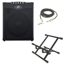 "New Peavey Max 115 Combo Amp 300W 15"" Bass Guitar Amplifier W/ Stand & 1/4 Cable"