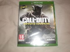 xbox one call of duty infinite warfare neuf sous blister