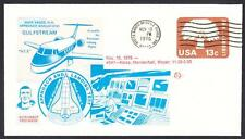 GULFSTREAM STA SPACE SHUTTLE TRAINING AIRCRAFT FLIGHT 11-10-1976 Space Cover