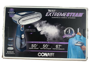 Conair Turbo Extreme Steam GS54 Self-Standing Garment Handheld Steamer Clothes