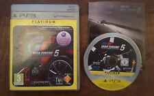 Gran Turismo 5 compatible 3D Platine PS3 jeu playstation 3 Français(lot)1,2,4,6