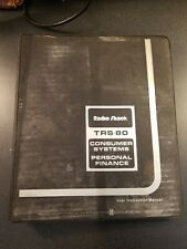 Radio Shack TRS-80 Systems Personal Finance On Cassette