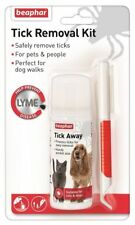 Beaphar Tick Removal Kit For Pets & People Includes Tick Spray and Tick Remover