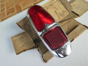PEUGEOT 403 REAR TAIL LIGHT SET LH WITH FUEL TANK CAP SET GENUINE NOS
