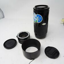 Minolta F/4 70-210mm 'Beer Can' AF Zoom Lens Sony for SLR SLT + 2x Teleconverter