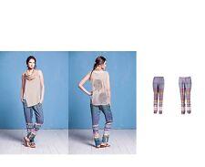 IVKO Hose Pants Geometric Print bunte Hose pink blau Adria 51711