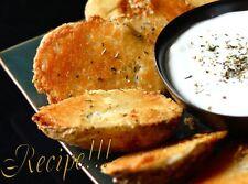 "☆Super Bowl: Parmesan Baked Potato Halves ""RECIPE""☆Gameday/Party Goodies!☆"