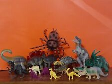 Prehistoric Toy Dinosaur/Arachnid Lot of 10 plus