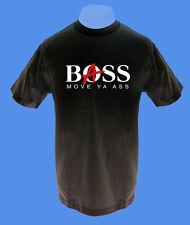 Männer Herren T-Shirt Bass Boss Musik bedruckt move2be S M schwarz