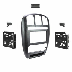 Metra 95-6539 Double DIN Dash Install Kit For Select 2001-07 Dodge and Chrysler