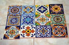 40 Mexican Mix  Tiles 6x6