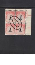 US Stamp #J89 Plate Block Fine/Very Fine Used Cat. Value $1.00            #711x