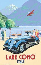 "Lake Como, Italy Vintage Retro Travel Photo Fridge Magnet 2""x3"" Collectibles"
