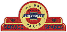 65x30cm Chevrolet Shield Tin Sign