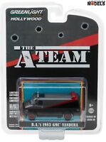 B.A.'S 1983 GMC VANDURA THE A-TEAM Greenlight Limited Edition 1/64 Die Cast New
