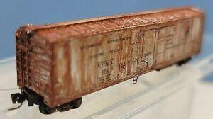 Z MTL 548 00 011 Northern Pacific 51ft Mech Reefer Box Car Single Plug Door #152