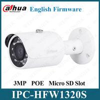 Dahua IPC-HFW1320S POE 3MP HD IP67 IR Mini Bullet IP Camera Replace IPC-HFW4300S