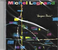 Michel Legrand - Bonjour Paris/Le Joli Mai/Rendezvous A Paris (2016 CD) New