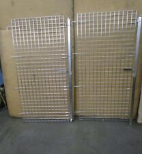 """Eagle A217376 28""""X60"""" Stainless S/S Metro Bakers Rack Cart Security Door (2)"""