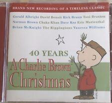 40 Years: A Charlie Brown Christmas by Various Artists (CD, Oct-2005, Peak...