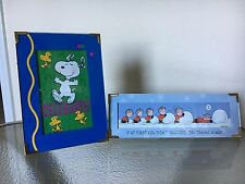 "LOT OF 2 PEANUTS SNOOPY HALLMARK ""PEANUTS GALLERY"" FRAMED PICTURE"