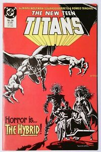 The New Teen Titans #24 (Oct 1986, DC) VF