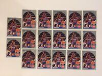 1990-91 NBA HOOPS #111 ISIAH THOMAS DETROIT PISTONS HOF LOT OF 17