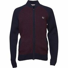 Fred Perry Patternless Lambswool Jumpers & Cardigans for Men