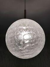 Doria eisglas Sfera Lampada 70er anni design BUBBLE LAMP D: 30 cm Palla 70s