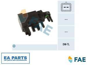 Pressure converter, turbocharger for CITROËN PEUGEOT RENAULT FAE 56039