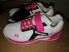 Chaussures Handball Kempa Wing Junior Michelin Blanc/Rose Taille 33