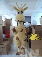 Halloween Giraffe Mascot Costume Suits Adults Cosplay Party Game Dress Outfits
