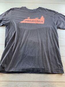 Sitka Gear LOGO T Shirt Short Sleeve Brown Project Elk XL Hunting