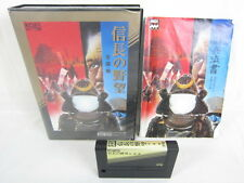 MSX NOBUNAGA NO YABO ZENKOKU BAN Japan Video Game 1064 MSX
