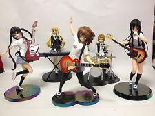 K-on! Premium Figure Yui, Azusa, Mio, SQ Ristu, Tsumugi set SEGA BANPRESTO