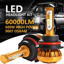 OSRAM 600W 60000LM 9007 HB5  High Low Beam Car LED Headlights Kit 6000K Bulbs