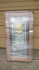 NEW: PELLA Home Wood CASEMENT WINDOW w/ Exterior Cladding & Built-In Blind 24x42