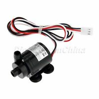 PC DC 6-12V Brushless Water Pump Amphibious Motor Pump w/ Speed Measurement Wire