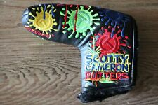 Scotty Cameron Circle T Black Paint Splash Tour Only Headcover