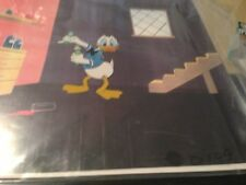 4 of Disney's Donald Duck cells-Chemist near Sequence 4production drawing