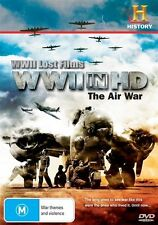 WWII Lost Films - WWII In HD : The Air War (DVD, 2011)-FREE POSTAGE
