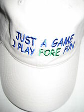 """JUST A GAME I PLAY """"FORE"""" FUN!....WHAT GAME?"""