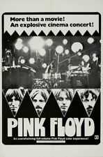 Pink Floyd Live at Pompeii 1971 cult music movie poster print A11