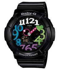 Casio Baby-G * BGA131-1B2 Neon Illum Colored Dial Gloss Black COD PayPal